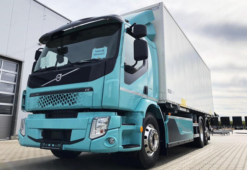 Samochód elektryczny Volvo Trucks